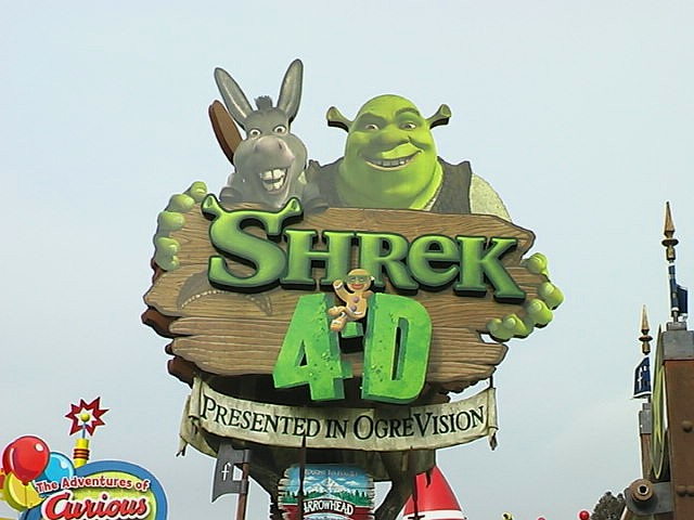 Sign Shrek 4D