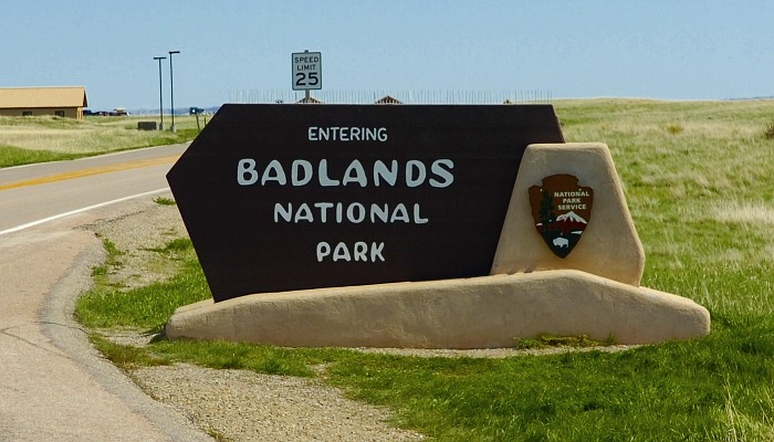 Entrance Badllands